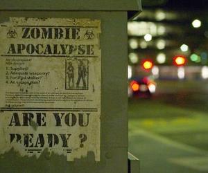 zombie, apocalypse, and zombies image