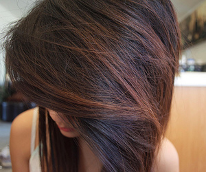 hair, girl, and pretty image
