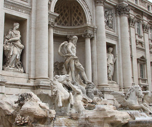 rome, architecture, and fountain image