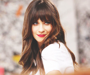 zooey deschanel, zooey, and blue eyes image