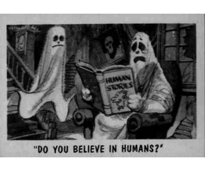 funny, ghost, and story image