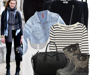 biker jacket, boots, and clothes image