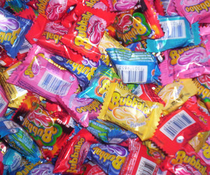 bubble gum, bubblegum, and candy image