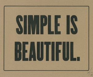 simple, beautiful, and quotes image