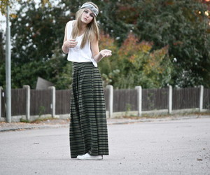 blonde, girl, and hippie image