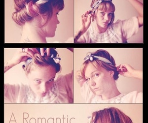 blonde, romantic, and trenza image