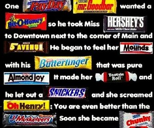 funny, candy, and chocolate image