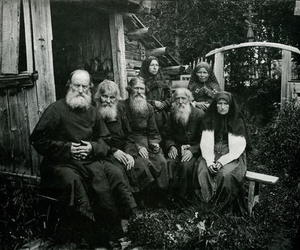 beards, black and white, and old image