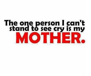 mother, cry, and mom image