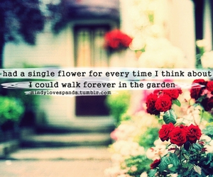 garden and love image