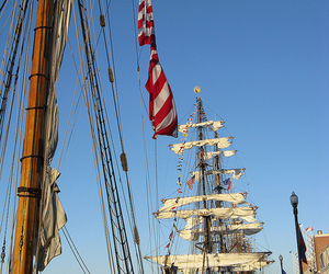 chicago, tall ships, and navy pier image