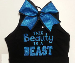 bow, cheerleading, and cheer image