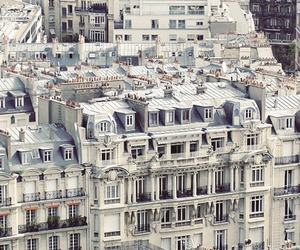 house, paris, and white image
