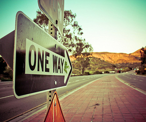 one way, way, and road image