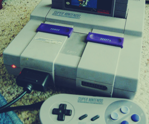nintendo, super nintendo, and childhood image