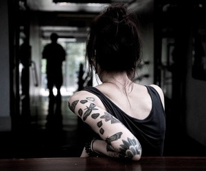 tattoo and girl image