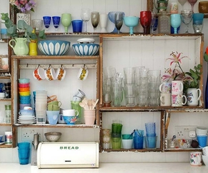 antiques, cups, and ecclectic image