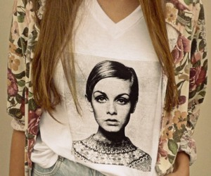 twiggy, fashion, and 60s image