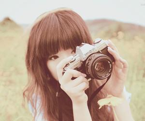 korean, ulzzang, and camera image