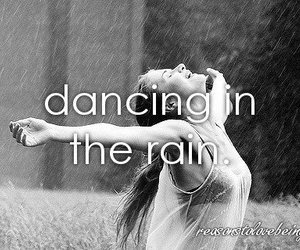 rain, dance, and dancing image