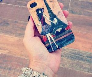 iphone and paris image