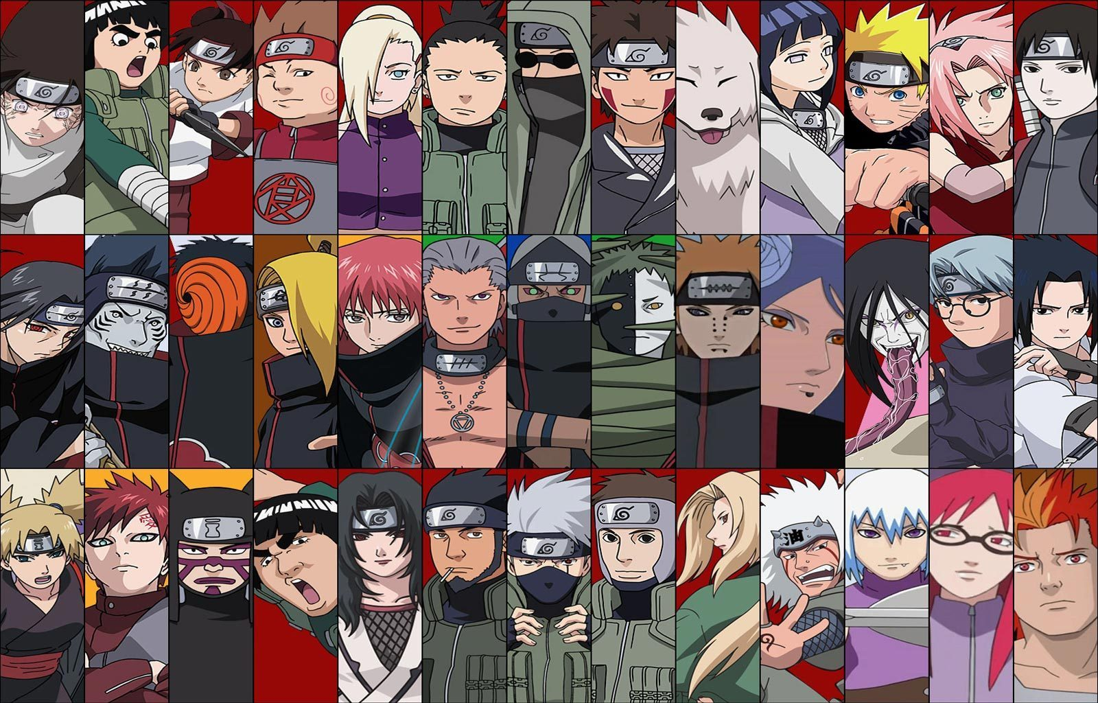 Personnage of Naruto Shippuden   We Heart It   naruto and anime