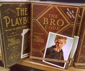 Barney Stinson, himym, and playbook image