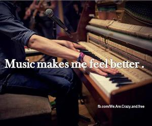 music, quote, and piano image