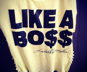 fashion, boss, and like a boss image