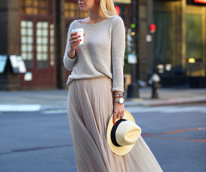 style, skirt, and hat image