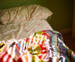 bed, vintage, and cute image