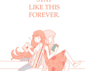 read, marceline, and adventure time image