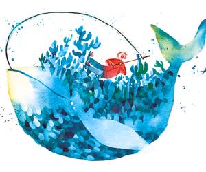 draw, watercolour, and koyamori image
