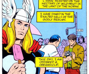 thor, creamsicle, and funny image