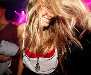 girl, party, and hair image
