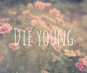 die, die young, and girl image
