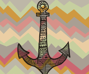 anchor, drawing, and colors image