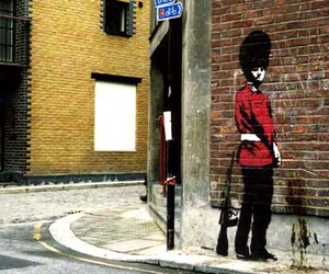 BANKSY and london image