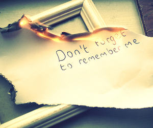 quote and remember me image