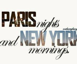 morning, new york, and paris image
