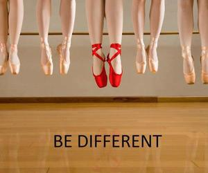 different, red, and ballet image