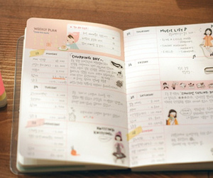 cute, diary, and journal image