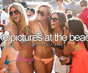 girl, summer, and bucket list image
