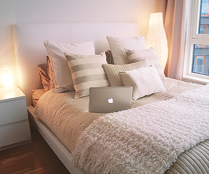 bedroom, mac, and Dream image
