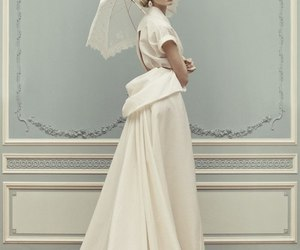 dress, white, and ulyana sergeenko image