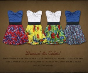 clothes, dresses, and hollister image