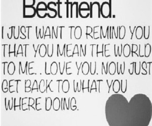 best friend and quotes image
