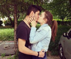 boy and girl, in love, and style image