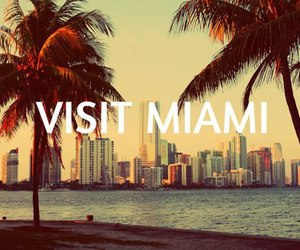Miami, beach, and city image