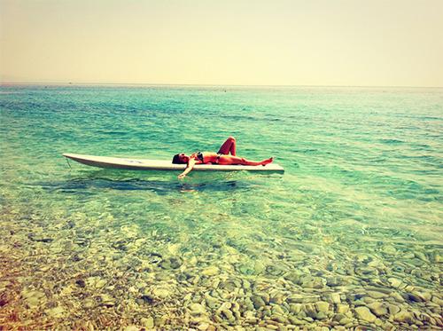 beach, sea, and holiday image